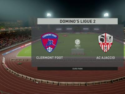 Clermont Foot 63 - AC Ajaccio : notre simulation FIFA 20 (L2 - 33e journée)