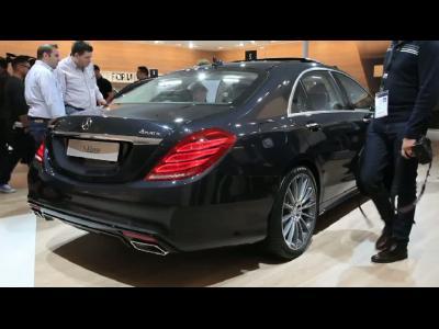 Francfort 2013 - Mercedes Classe S