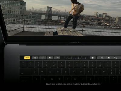 MacBook Pro : vidéo promo Touch Bar