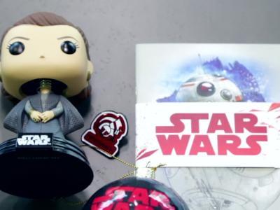 Wootbox Star Wars 8 : Les Derniers Jedi - le contenu de la box
