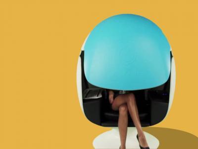E-bulle : présentation du bureau semi ouvert pour vous isoler dans l'open space