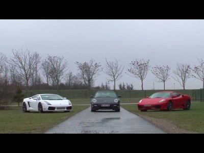 Comparatif Porsche/Ferrari/Lamborghini