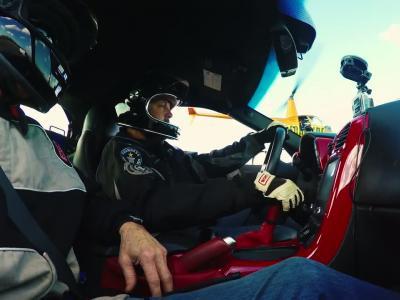 La voiture électrique la  rapide du monde est une Corvette !