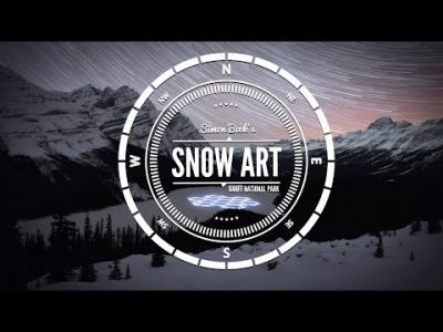 Simon Beck's, Snow Art