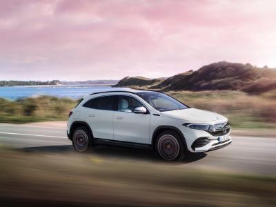 Nouveau Mercedes EQA : le SUV compact électrique en vidéo