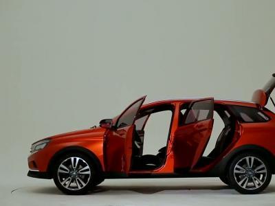 Lada Vesta Cross Concept : break baroudeur en approche