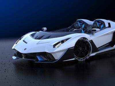 La nouveau speedster Lamborghini SC 20 en vidéo