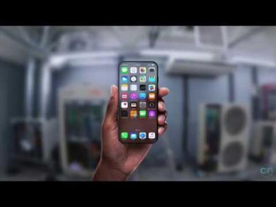 iPhone 8 : concept avec écran transparent par Georgi Pashkov pour ConceptsiPhone