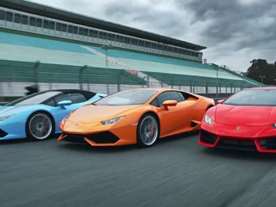 Les 3 variantes de Lamborghini Huracan réunies en un défi vidéo
