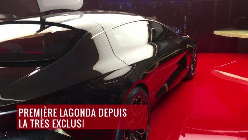 Le concept Lagonda Vision en vidéo depuis le salon de Genève 2018