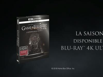 Game of Thrones en 4K, le teaser
