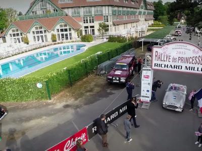 Un retour en image très aérien du Rallye des Princesses 2015