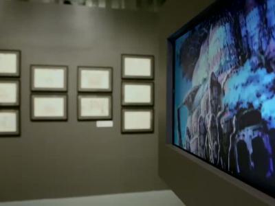 Culturetainment [S5E06] Visite de l'exposition, Dessins du studio Ghibli