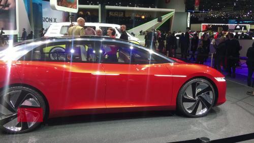La Volkswagen ID Vizzion en vidéo depuis le salon de Genève 2018