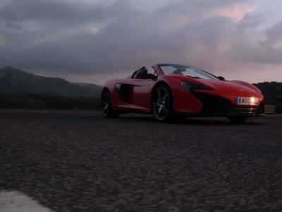 Essai McLaren 650S Spider : Amplitude maximale