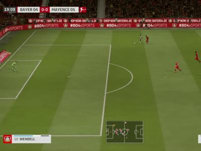 Bayer Leverkusen - 1. FSV Mayence 05 sur FIFA 20 : résumé et buts (Bundesliga - 34e journée)