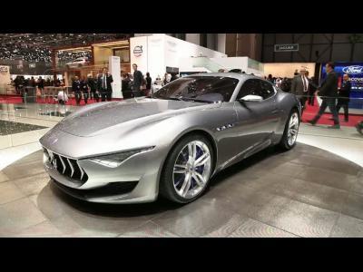 Genève 2014 : Maserati Alfieri Concept
