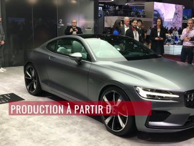 La Polestar 1 en vidéo depuis le salon de Genève 2018