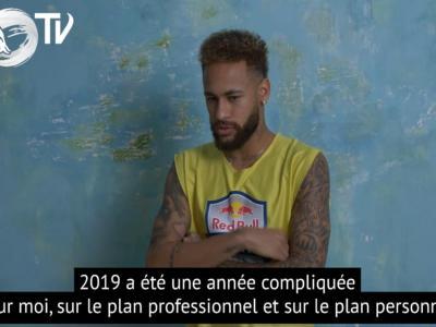 """Neymar : """"Tout remporter avec Paris et le Brésil"""""""