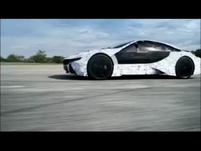 BMW Vision Efficient Dynamic (essais de développement)