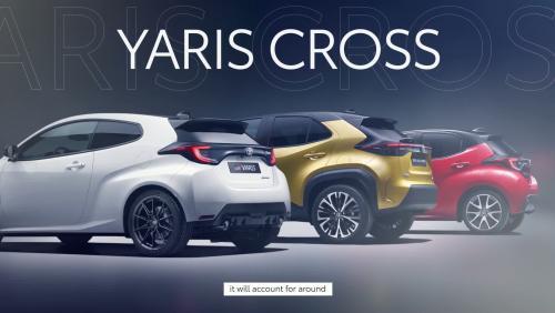Présentation du nouveau Toyota Yaris Cross en vidéo