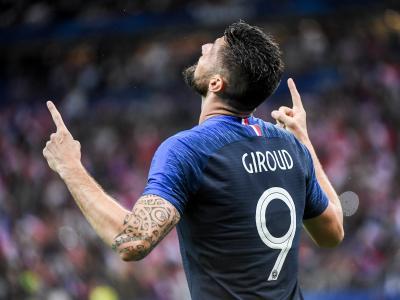Le souvenir du jour : quand Olivier Giroud égalait Zidane en équipe de France