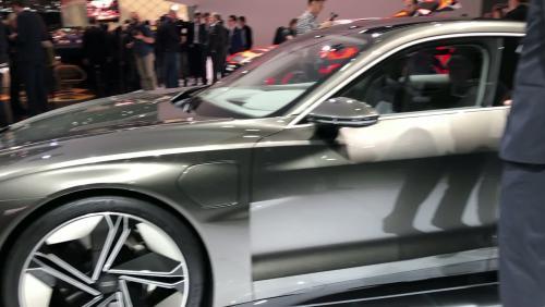 Salon de Genève 2019 : l'Audi e-tron GT Concept en vidéo