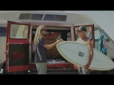 Rob Machado's Eco Surfboard