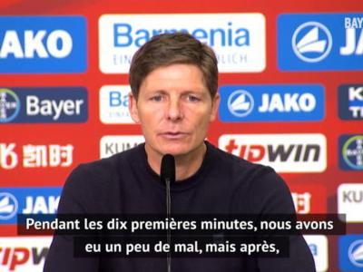 """28e j. - Glasner : """"L'équipe a fait tout ce que je voulais face à Leverkusen"""""""
