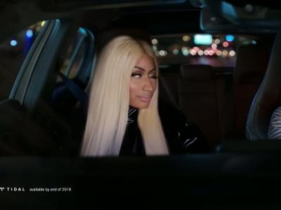 Nicki Minaj fait la pub de la nouvelle Mercedes Classe A