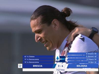 Serie A - Match complètement fou entre Brescia et Bologne !