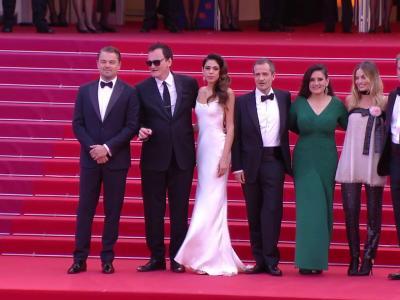 Festival de Cannes 2019 : la montée des marches de Quentin Tarantino, Leonardo Di Caprio et Brad Pitt