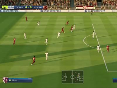 FC Metz - Dijon FCO sur FIFA 20 : résumé et buts (L1 - 34e journée)