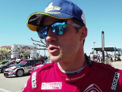 Rallye de Corse WRC : notre interview décalée du pilote Citroën