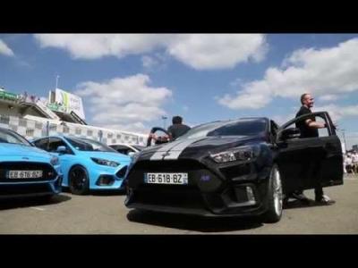 L'acteur Pio Marmai et Olivier Pla à l'assaut du Mans en Ford Focus RS