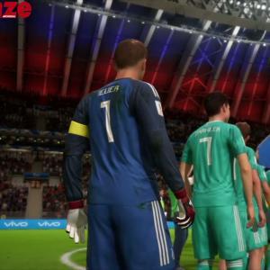 Russie - Allemagne : notre simulation sur FIFA 18