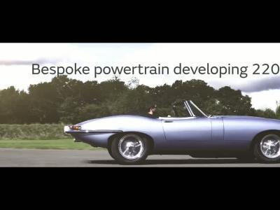 Jaguar transforme la Type E en sportive électrique