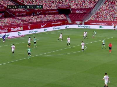 La Liga : Ocampos débloque le derby sur penalty