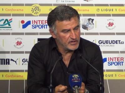 Amiens – Lille : Christophe Galtier critique l'arbitrage !