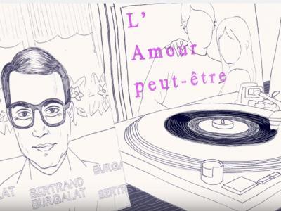 Ricky Hollywood - L'amour peut-être (feat. Bertrand Burgalat)