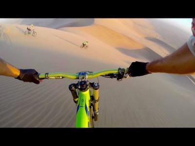 La Namibie embarquée sur les vélos de ces aventuriers