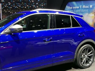 Salon de Genève 2019 : le Volkswagen T-Roc R en vidéo