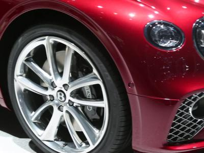 Francfort 2017 : Bentley Continental GT