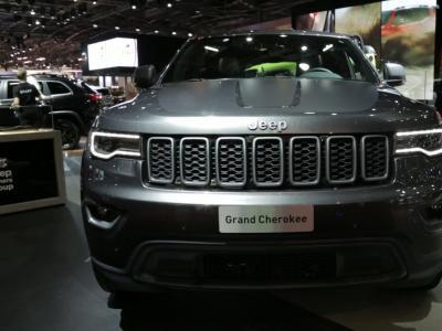 Mondial 2016 : Jeep Grand Cherokee my2017