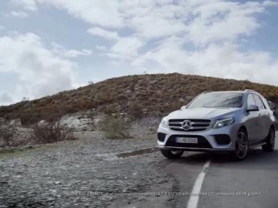 Le Mercedes ML devient GLE et passe à l'hybride