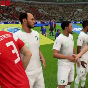 Russie - Arabie Saoudite : notre simulation sur FIFA 18