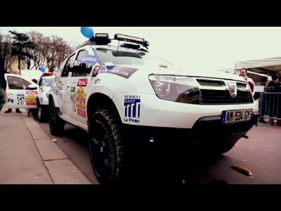 Départ du 23è Rallye des Gazelles