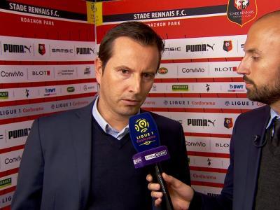 Rennes - Reims : la réaction de Julien Stéphan