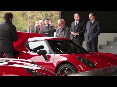 Alfa Romeo 4C : livraison des premiers modèles