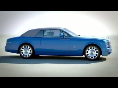 La Rolls-Royce Phantom Drophead Coupé Waterspeed Collection en vidéo